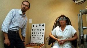 Examen ophtalmoscopique