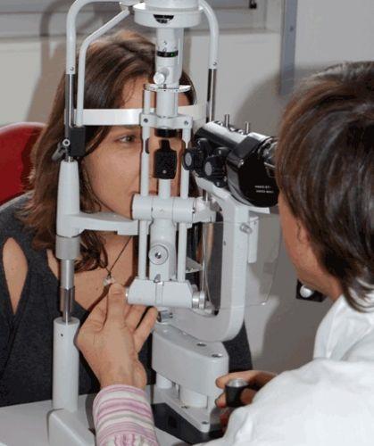 L'examen ophtalmologique du malade
