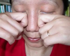 Ne pas porter les doigts aux yeux
