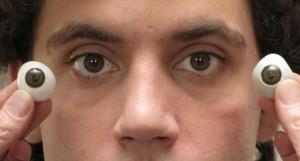 Le blanc de l'œil
