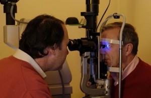 L'examen de l'œil