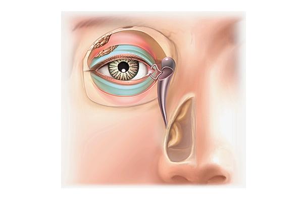 Sécrétion lacrymale