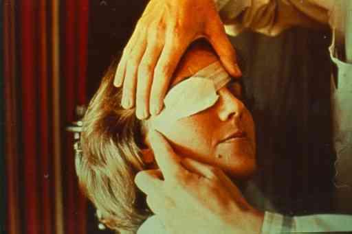 Le pansement oculaire